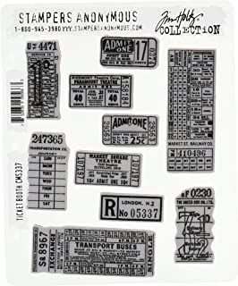 Stampers Anonymous CMS337 Cling Stamp Tholtz Ticketbooth