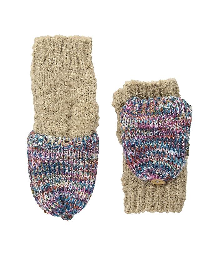 San Diego Hat Company KNG3466 Fingerless Marl Gloves (Tan) Dress Gloves