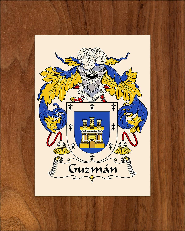 Carpe Diem Designs Guzman discount Coat Arms of Selling Family Crest 8X10