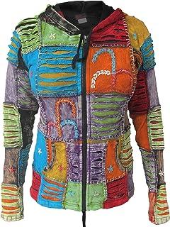 patchwork hippy coats and jackets ebay uk