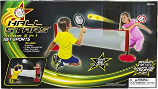 Little Kids Hall Stars Volleyball and Tennis 2-in-1 Net Sports Play Set