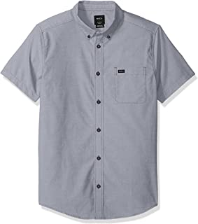Men's Short Sleeve Button Down Oxford Shirt
