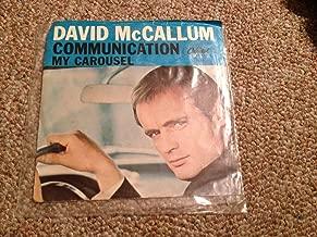 David McCallum: Communication / My Carousel 7