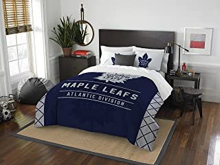 dbd60eedc22 NHL Draft Full Queen Comforter and 2 Sham Set
