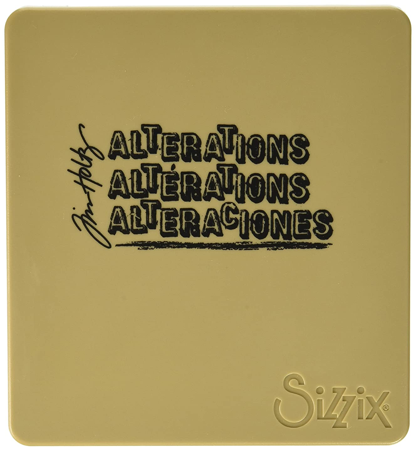 Sizzix 660234 Bigz Die Tea Time by Tim Holtz