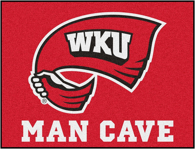 NCAA Western Kentucky University Team Logo Man Cave All-Star Mat - 33.75 x42.5
