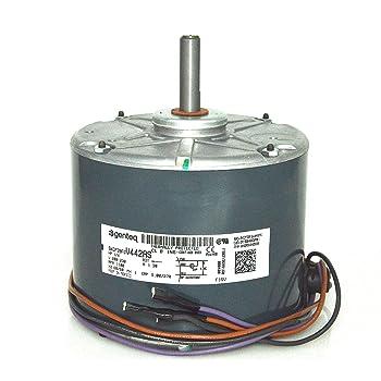 [DIAGRAM_5FD]  Trane Condenser Fan Motor 1/5 HP MOT3420 MOT03420 - - Amazon.com | Outside Ac Fan Motor Wiring N859bs |  | Amazon.com