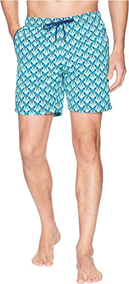 Mr. Swim - Parrots Printed Dale Swim Trunks