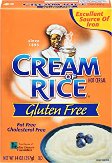 Cream of Rice Gluten Free Hot Cereal, 14 Ounce (Pack of 12)