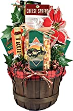 Buon Natale!, Italian Themed Christmas Basket With Everything They Need To Start A Gourmet Italian Pasta Dinner, 8 Pounds