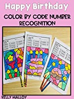 Happy Birthday Subitizing Color By Number