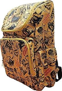 Vincent Master Backpack Travel Stylist Barber Bag (Gold)
