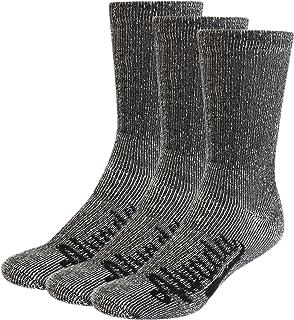 80% Merino Wool Hiking Socks Thermal Warm Crew Winter Sock for Men & Women 3 Pairs