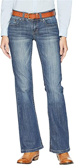 a1ac571ac8a0 Miss me slim bootcut jeans in medium blue