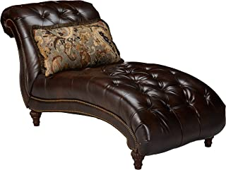 Ashley Furniture Signature Design - Winnsboro Chaise - Traditional - Vintage Brown