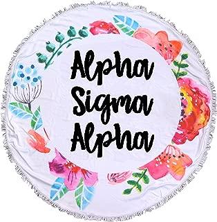 Sorority Shop Alpha Sigma Alpha - Fringe Towel - Blanket