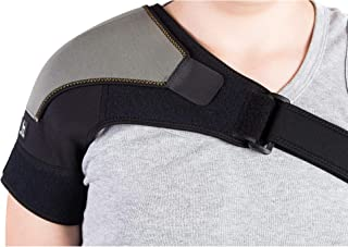 Astorn Shoulder Brace for AC Joint & Tendinitis. Shoulder Support for Pain Relief & Injury Prevention. Compression Ice Pack Wrap. Shoulder Support Rotator Cuff Brace for Women & Men