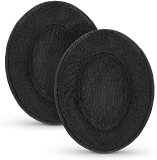 Brainwavz Velor Replacements Ear Pads - for ATH-M50X, SHURE, AKG, HifiMan, ATH, Philips, Fostex Velour Memory Foam Earpads...