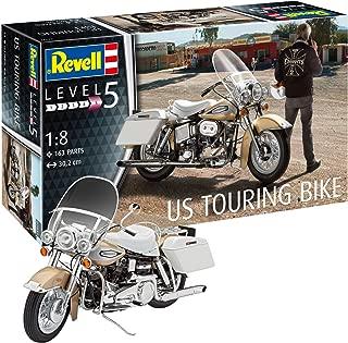 Revell- Maqueta de Motocicleta US Touring Bike, Kit Modelo, Escala 1:8 (7937)(07937), 30,2 cm de Largo (