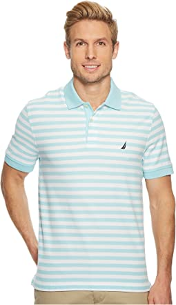 Short Sleeve Stripe Classic Deck Polo