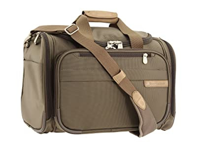 Briggs & Riley Baseline Cabin Duffle (Olive) Carry on Luggage