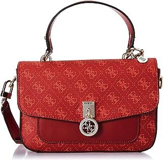 Guess Jensen Top Handle Flap Bag for Women