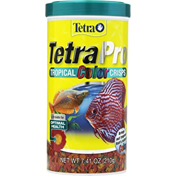 Tetra TetraPRO Tropical Color Crisps With Biotin for Fishes