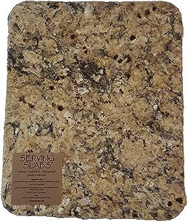 Handmade Reclaimed Granite Cheeseboard with Rough Chiseled Edge, 11