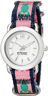 Sperry Top-Sider - Hayden 10014927 - Reloj analógico de Cuarzo japonés con Correa Rosa para Mujer
