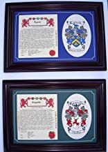name history and coat of arms