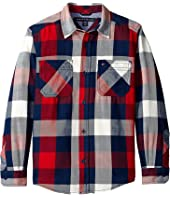 Tommy Hilfiger Kids - Ansel Long Sleeve Shirt (Big Kids)