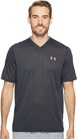 UA Threadborne V-Neck Short Sleeve