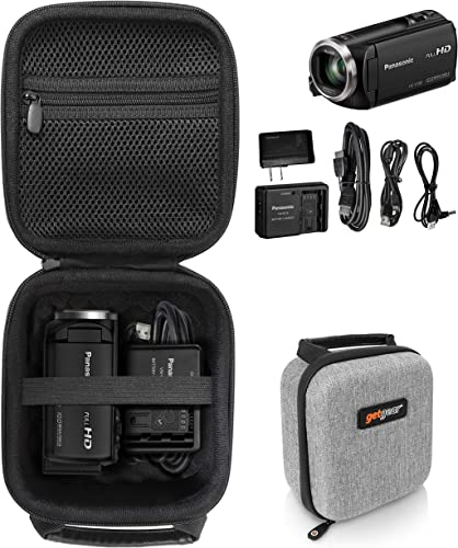 high quality getgear Video Camera lowest Camcorder Case for Panasonic Full HD Video Camera Camcorder HC-V180K, HC-V770; Canon VIXIA HF R800; online Sony HDRCX405, CX440, CX240; LINNSE, kicteck, kimire, Heegomn, SEREER, ORDRO outlet sale