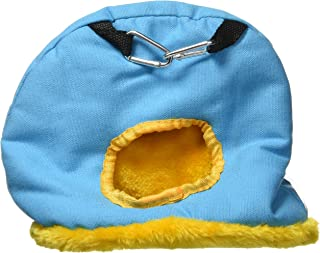 Prevue Pet Products BPV1168 Medium Snuggle Sack Bird Nest with 2-1/2-Inch Opening, Colors Vary