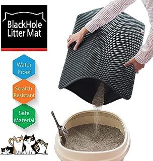 """BlackHole Litter Mat Blackhole Cat Litter Mat - Large Size Rectangular 30"""" X 23"""""""