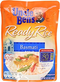 Uncle Ben's, Ready Rice, Basmati, 8.5 oz Pouch (Pack of 6)