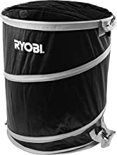 Ryobi 40 Gallon Collapsible and Reusable Lawn and Garden Bag with Quadruple Hand Strap..