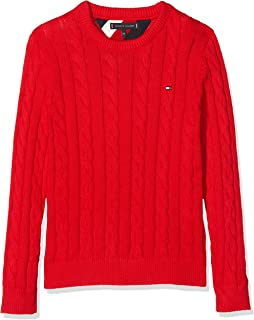 Tommy Hilfiger Essential Cable Sweater Suéter para Niños