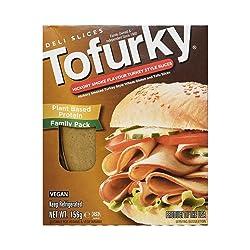 Tofurky Hickory Smoke Flavour Turkey Style Slices, 156 g
