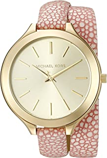 Michael Kors Women's Slim Runway Pink Watch MK2476