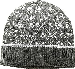 [マイケルコース] レディース 帽子 Grid Logo Cuff Hat [並行輸入品]