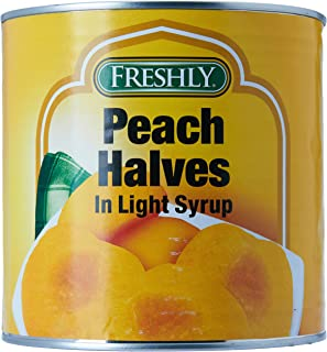 Fruit Peach Halves In Syrup 2600G