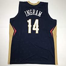 Unsigned Brandon Ingram New Orleans Blue Custom Stitched Basketball Jersey Size Men's XL New No Brands/Logos
