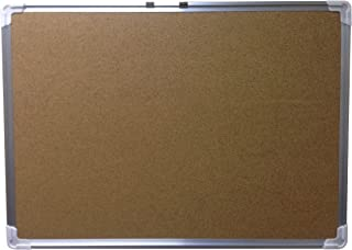"FixtureDisplays 21x29"" Cork Bulletin Board Alluminum Frame Message Wall Black Back Memo 12011 12011"