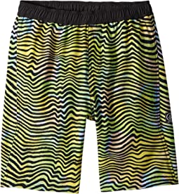 Volcom Kids - Vibes Volley Boardshorts (Little Kids/Big Kids)