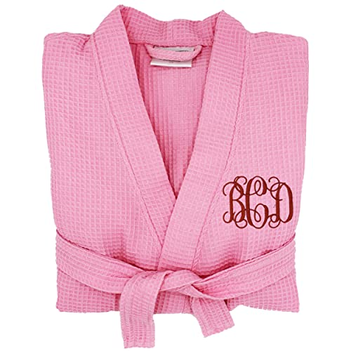 Personalized Waffle Bridesmaid Kimono Robe Gift - Wedding Bridal Party Robes  - Women s Bathrobe - Custom 3def8929c
