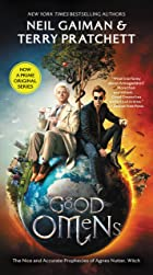 Cover image of Good Omens by Neil Gaiman & Terry Pratchett
