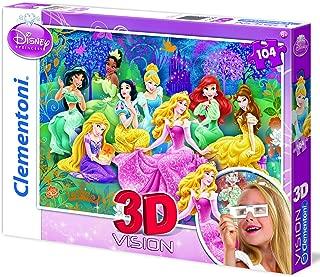CLEMENTONI - PUZZLES 104 3D PRINCESS