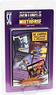 Sentinels of The Multiverse: Oversized Villain Character Cards Game