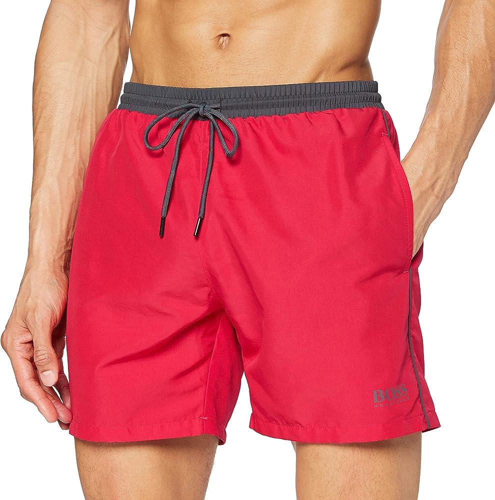 Boss starfish,costume da bagno a pantaloncini per uomo,100% poliestere 50408104F